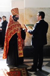 С 6 по 10 мая 2014 года Его Императорское Высочество, Великий Князь Георгий Михайлович пребывал в Санкт-Петербурге с рабочим визитом