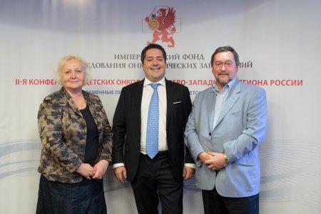 Вручение премий Императорского Фонда исследований онкологических заболеваний
