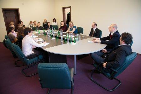 Великий Князь Георгий Михайлович встретился с представителями учащейся молодежи