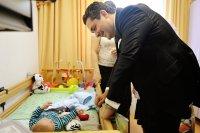 Рабочий визит Наследника Цесаревича Великого Князя Георгия Романова в Санкт-Петербург начался с посещения Детского хосписа