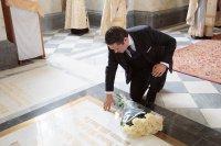 Лития на могиле Великой Княгини Леониды Георгиевны в память ее 100-летия и награждение митрополита Санкт-Петербургского и Ладожского Варсонофия орденом святой Анны