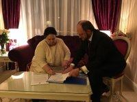 Великая Княгиня Мария Владимировна высоко оценила деятельность Фонда «Исследование онкологических заболеваний».