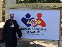 Председатель комиссии ОПРФ протоиерей Александр Ткаченко стал участником Всемирного Конгресса Семей