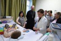 Генеральный директор Императорского Фонда глава петербургского Детского хосписа Александр Ткаченко принял делегацию уполномоченных по правам ребёнка