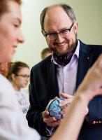 Новогодние игрушки студентов академии им. А. Л. Штиглица украсят елки благотворителей Детского хосписа