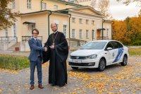 Московскому областному хоспису для детей подарили автомобиль